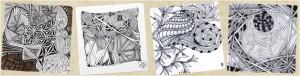 Zentangle Muster, Patterns