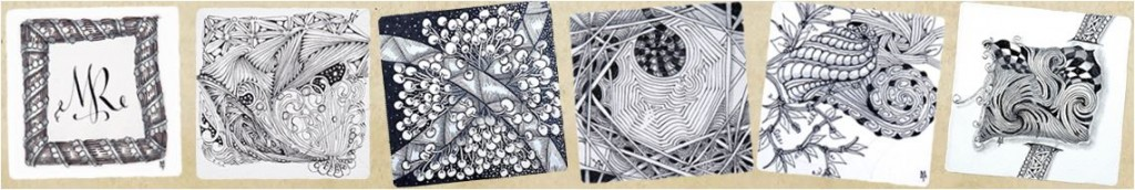 Muster Patterns Zentangle
