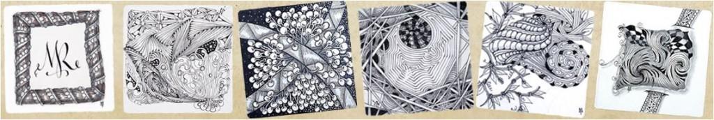 Muster Patterns Zentangle