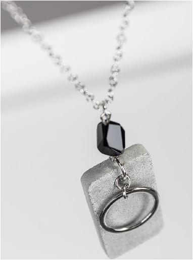 Halskette-aus-Beton
