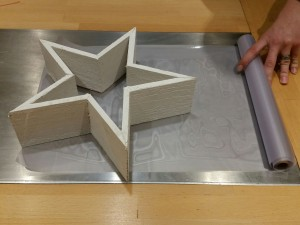 3D-Folie-Sterneffekt