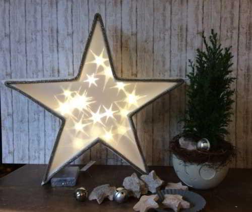 Lampenstern Weihnachtsstern