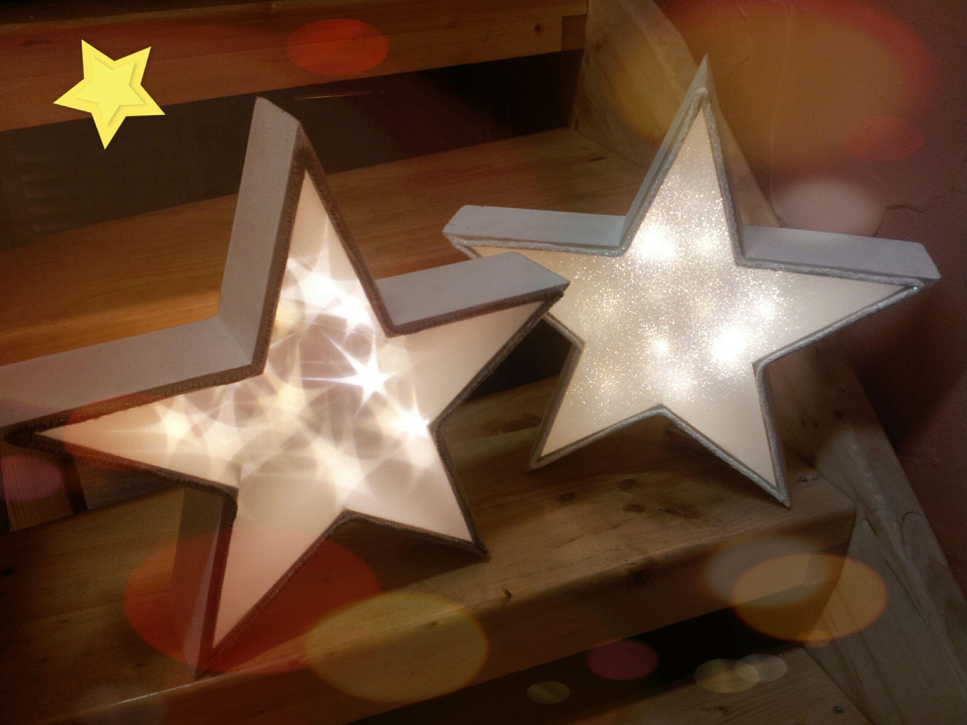 leuchtender weihnachtsstern basteln beleuchtung in 3d my cms. Black Bedroom Furniture Sets. Home Design Ideas